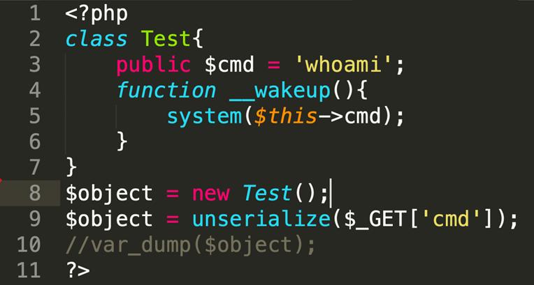 图片6-反序列化漏洞demo