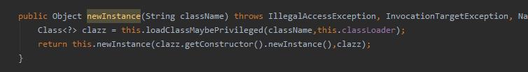 DefaultInstanceManager的newInstance方法