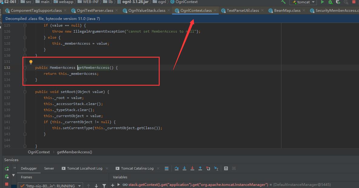 OgnlContext获取SecurityMemberAccess的方法